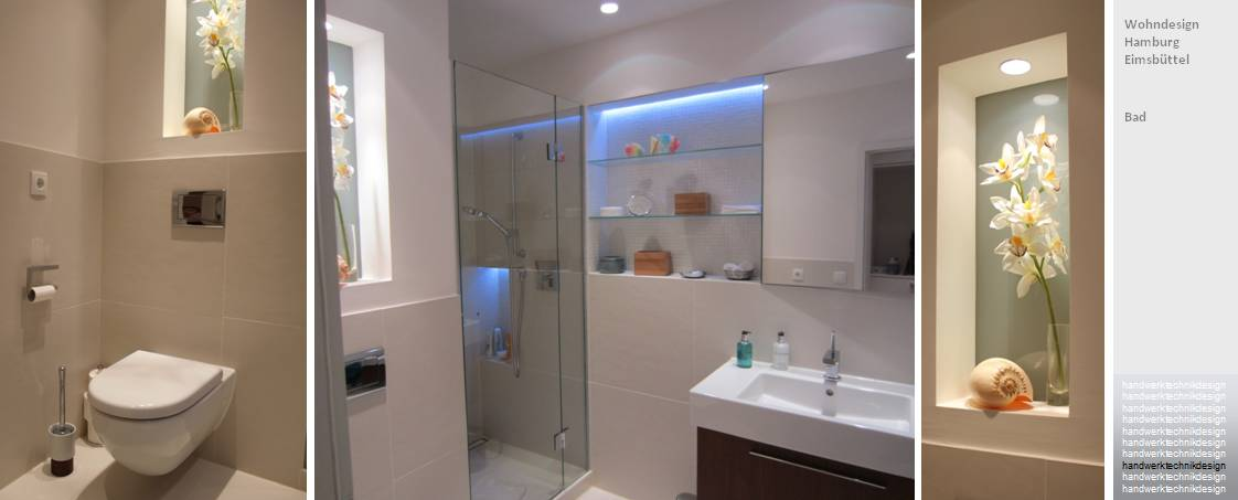 Dusche Nische Licht : Das Schlafzimmer ist jetzt die absolute Ruhezone der Wohnung. Es