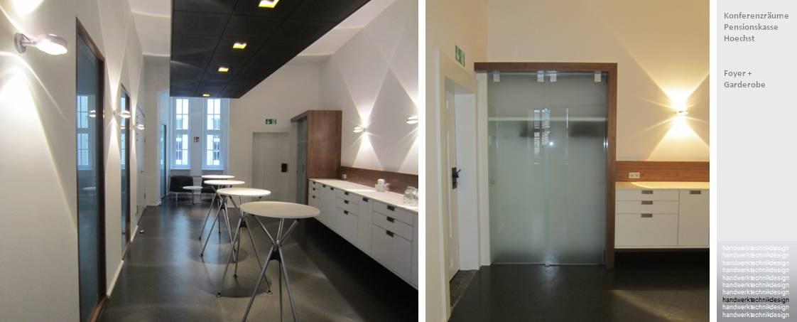 Foyer + Garderobe