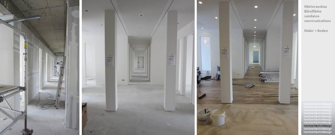 Maler- und Bodenbelagarbeiten